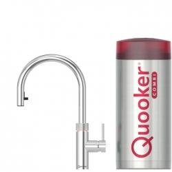 Quooker Flex Chroom met COMBI boiler